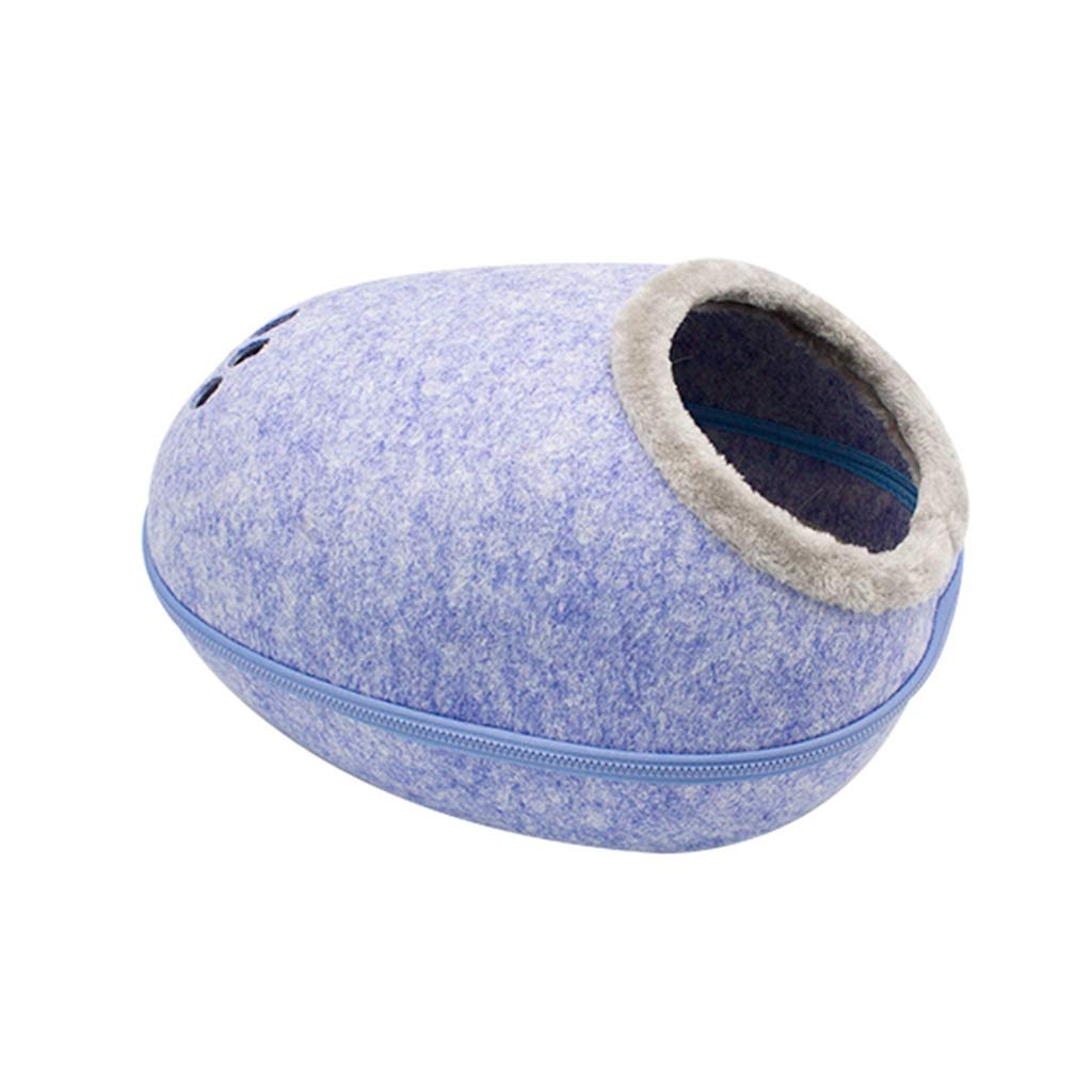 bluee LIZHIQIANG Cat Nest, Pet Waterloo, Pet Bed, Cat Bed, Dog Bed Four Seasons Universal (2 Colours) (color   bluee)