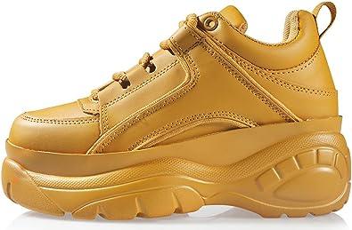 FITFOOT Chaussure Basket Mode à Grosse Semelle Platforme pour Femme (36 à 41)