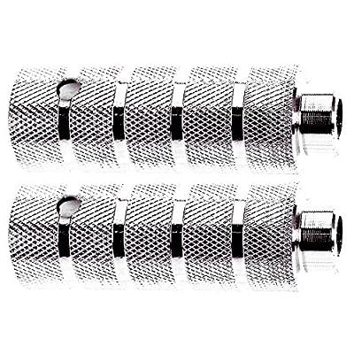 Novatec Steel Silver Pegs for 14 mm axle - 329982