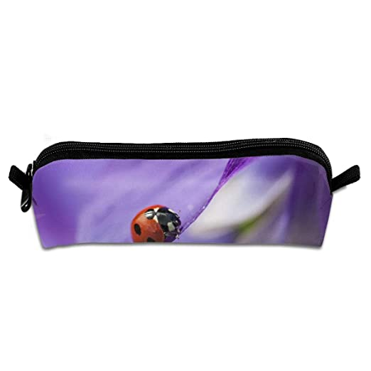 Pengyong Red Ladybug - Estuche para lápices, diseño de Flores ...