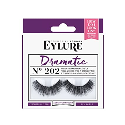 0125d7f7ed5 Eylure Naturalites Dramatic Faux Cils No. 202: Amazon.fr: Beauté et ...
