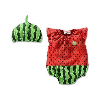 mxdmai Bebé Trajes infantil creativa bebé Mono lindo del ...