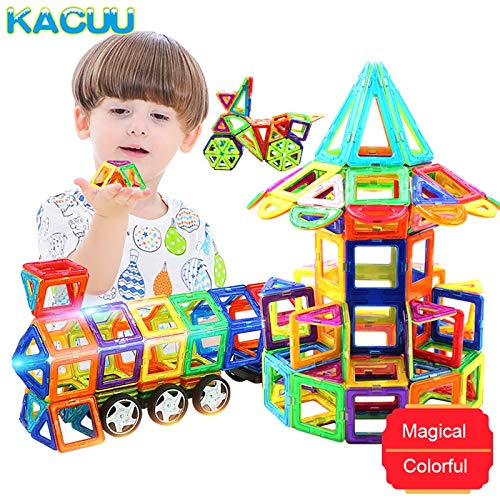 JohnCalbe A&T Big Size Magnetic Designer Construction Set Model & Building Toy Magnets Magnetic Blocks Educational Toys for Children