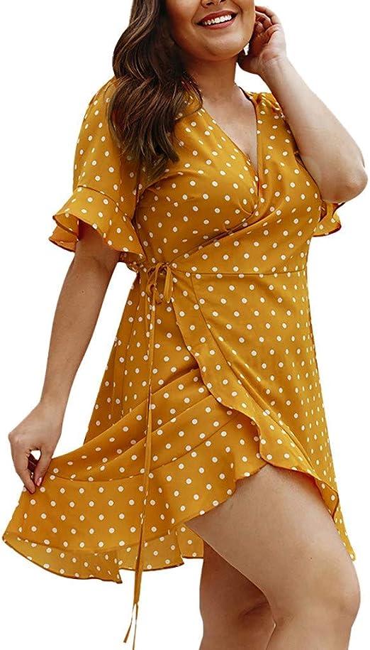 Las Rebajas Vestido Talla Grande Verano Mujer, Vestido de ...