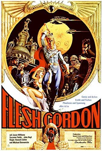 "Amazon.com: Flesh Gordon (German ) POSTER (11"" x 17""): Posters ..."