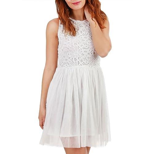 La Modeuse -  Vestito  - Donna bianco Large