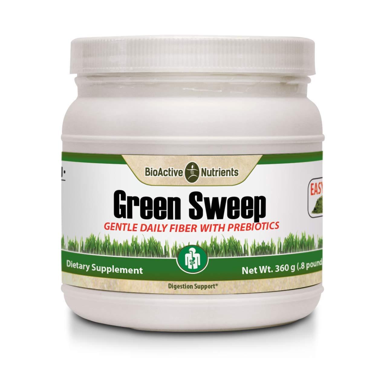 Green Sweep Fiber with Prebiotics by BioActive Nutrients