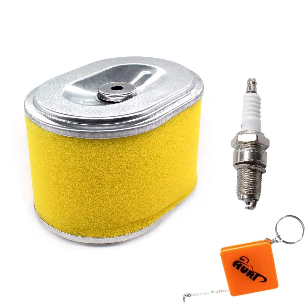 HURI Air Filter With Spark Plug for HONDA GX140 GX160 GX200 5HP 5.5HP 6.5HP Engine Generator Water Pump