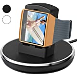 For Fitbit Ionic Charger, Epuly for Fitbit Ionic Accessories Women Men Charging Stand/Dock/Station/Holder/Cradle with 3 feet Charging Cable for Fitbit Ionic Smartwatch Black