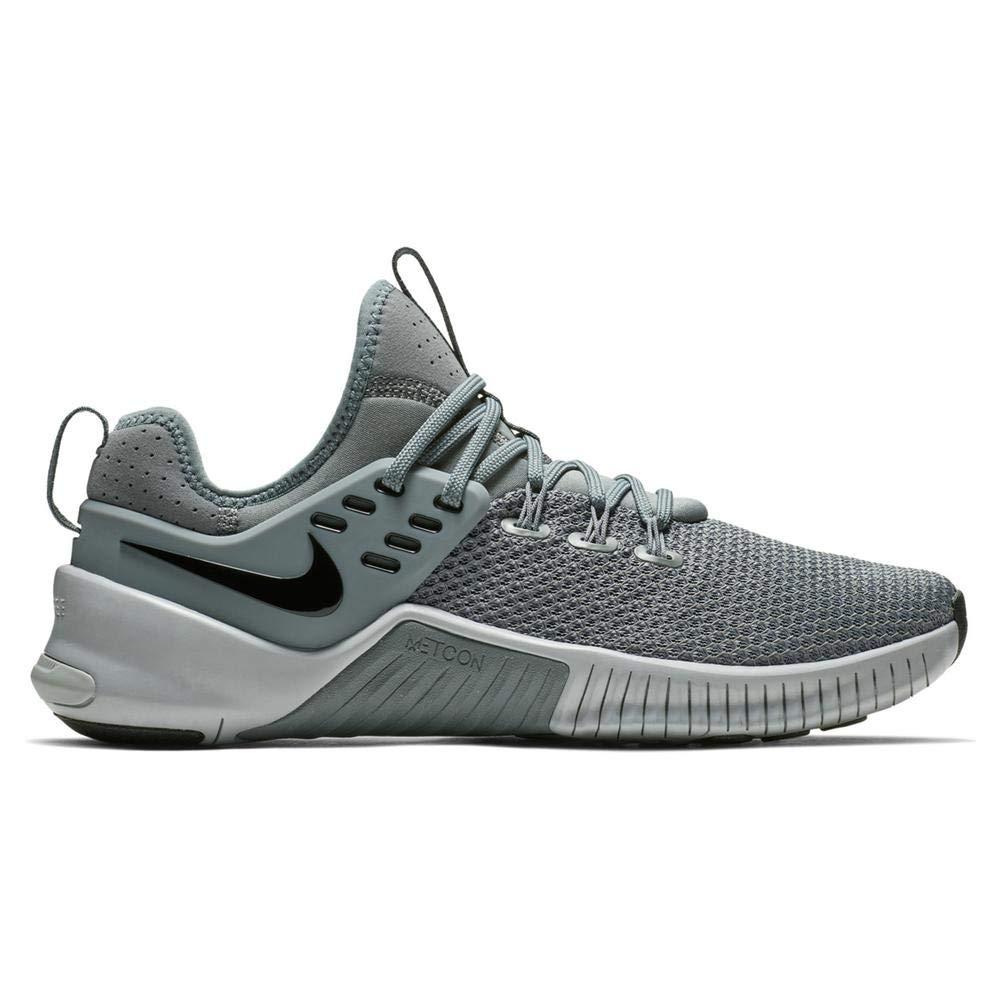 Nike Men's Metcon Free Training Shoe Cool Grey/Wolf Grey-Black 8.0