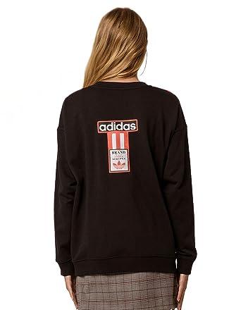 Sweatshirt 3 Originals Amazon Adidas At Women's Stripes OPkXuZi