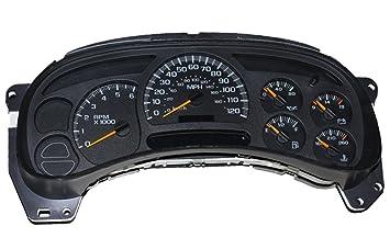 Chevrolet Silverado 1500, Avalanche, Sierra 1500, Yukon, Tahoe or Suburban  1500 Instrument Cluster