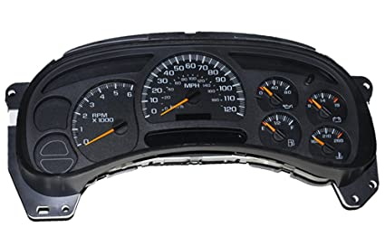 2004 chevy avalanche instrument cluster problems