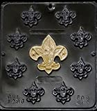 Boy Scout Assortment Badges Chocolate Candy Mold 1296