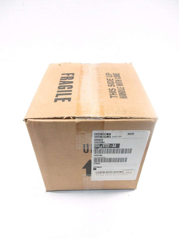 GAST DOA-V722-AA 115V-AC 1/8HP VACUUM PUMP D527343
