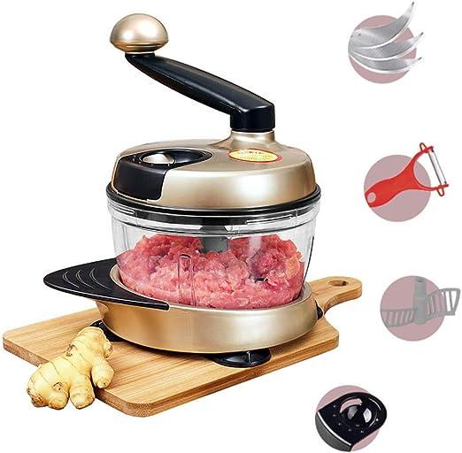 FU LIAN Picadora Manual de Alimentos/licuadora/rebanadora de Carne ...