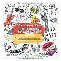 Libro de colorear para adolescentes Doodle. Extra grande