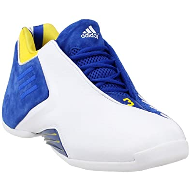 695449dccd22 adidas Mens TMAC 3 Athletic   Sneakers White
