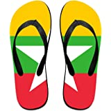 Israeli Flag Comfortable Flip Flops For Children Adults Men And Women Beach Sandals Pool Party Slippers