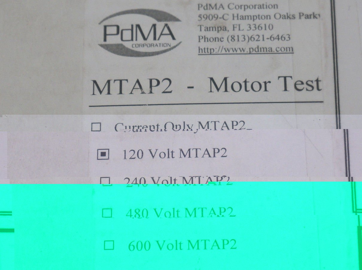 61WzRPV7fiL._SL1210_ pdma mtap2 motor test access portnew in box amazon com mtap2 wiring diagram at gsmx.co