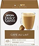 Nescafe Dolce Gusto Coffee Pods, Cafe Au Lait, 16 capsules, Pack of 3