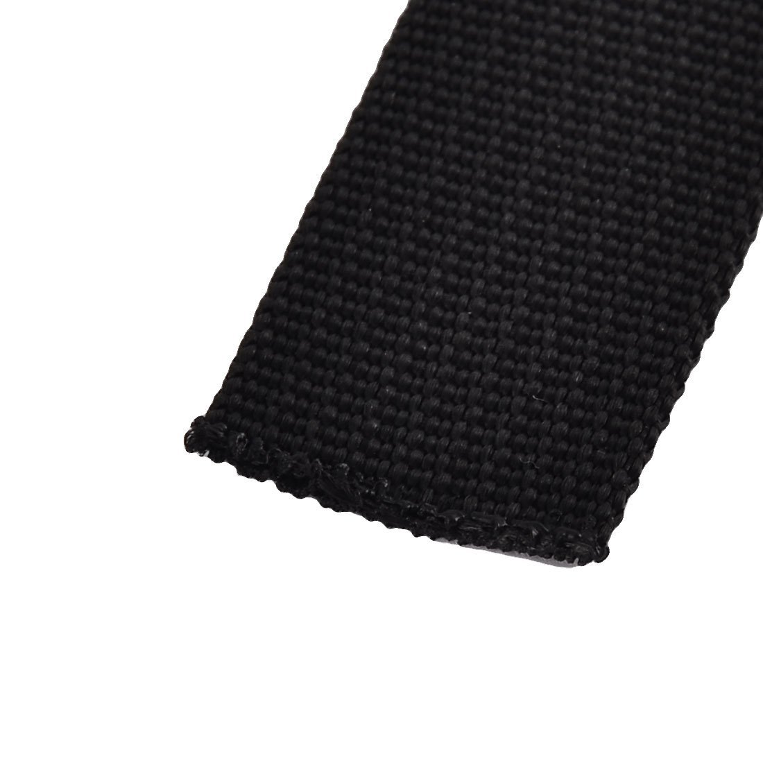 EbuyChX Naylon sa bahay Travel Adjustable Suitcase Bagahe strap belt buckle 2.5 x 100cm Black