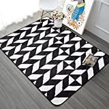 Fashion simple carpet Blanket for living room and tea table Bedroom wall-to-wall bedside blanket-D 180x180cm(71x71inch)
