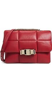 02f3231d5dbb Amazon.com  Salvatore Ferragamo Women s Ginny Shoulder Bag