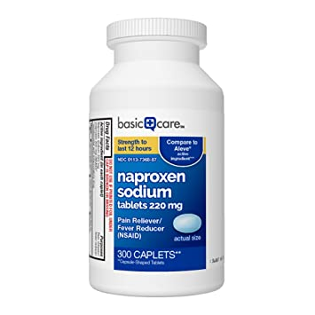 Amazoncom Basic Care Naproxen Sodium Tablets 300 Count Health
