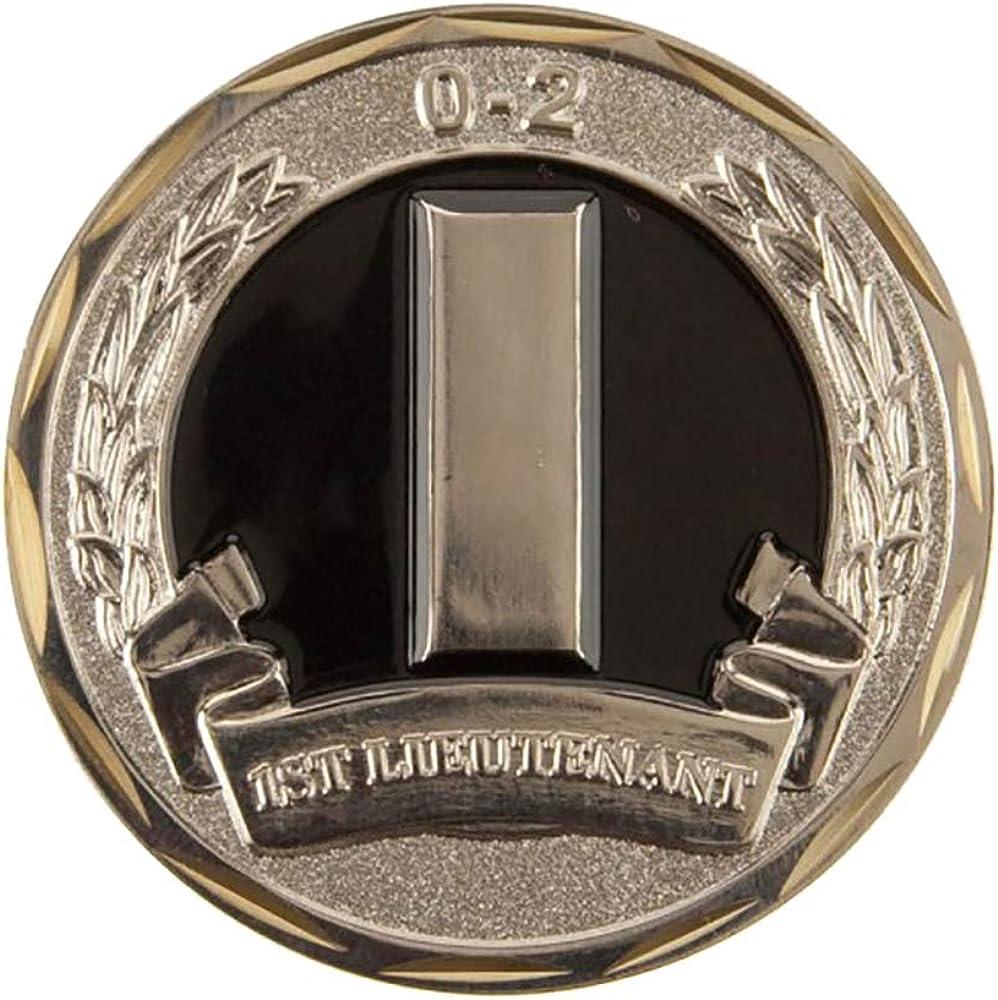 2 Army Rank Coin - Black Army O-2 W01S25F U.S