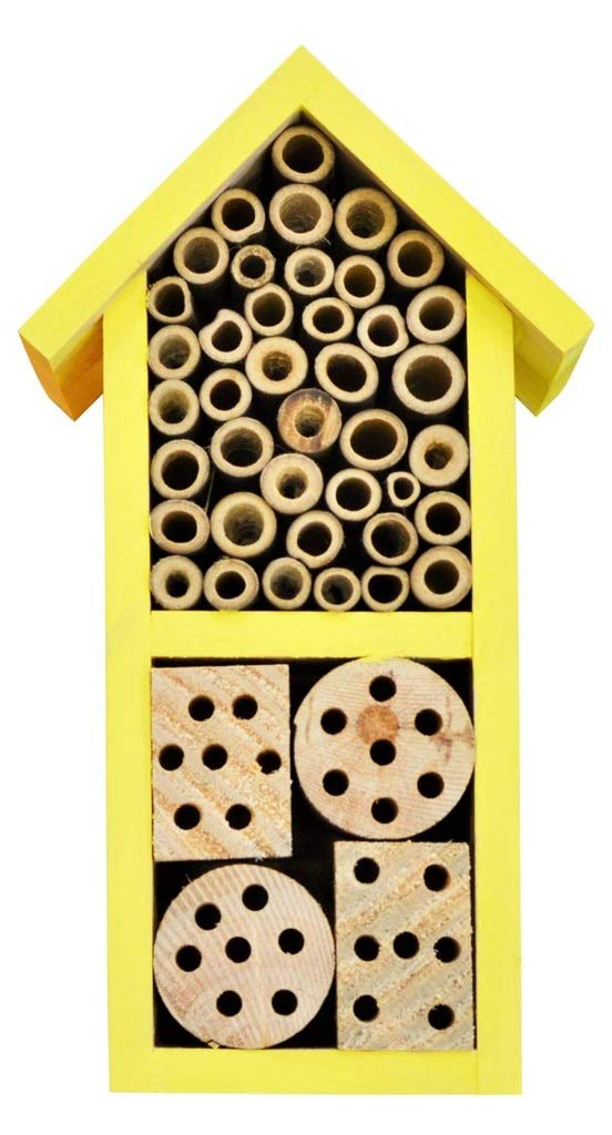 Nature's Way Bird Products 066560 PWH2-A Dual Chamber Yellow Insect House