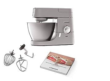 Kenwood KVC3110S Robot de cocina, accesorios de bol, indicador de velocidades 1000 W,