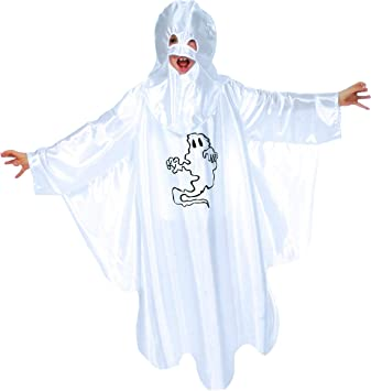 Zauberclown - Disfraz infantil de fantasma para carnaval o ...