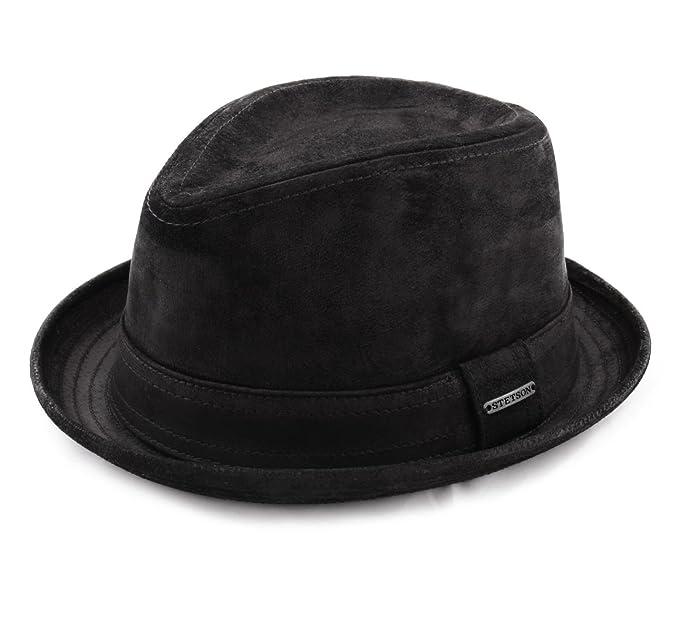 6a45d11b872 Stetson - Trilby Hat men Radcliff  Amazon.co.uk  Clothing