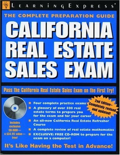 California Real Estate Sales Exam by LearningExpress Editors (2007-03-23)