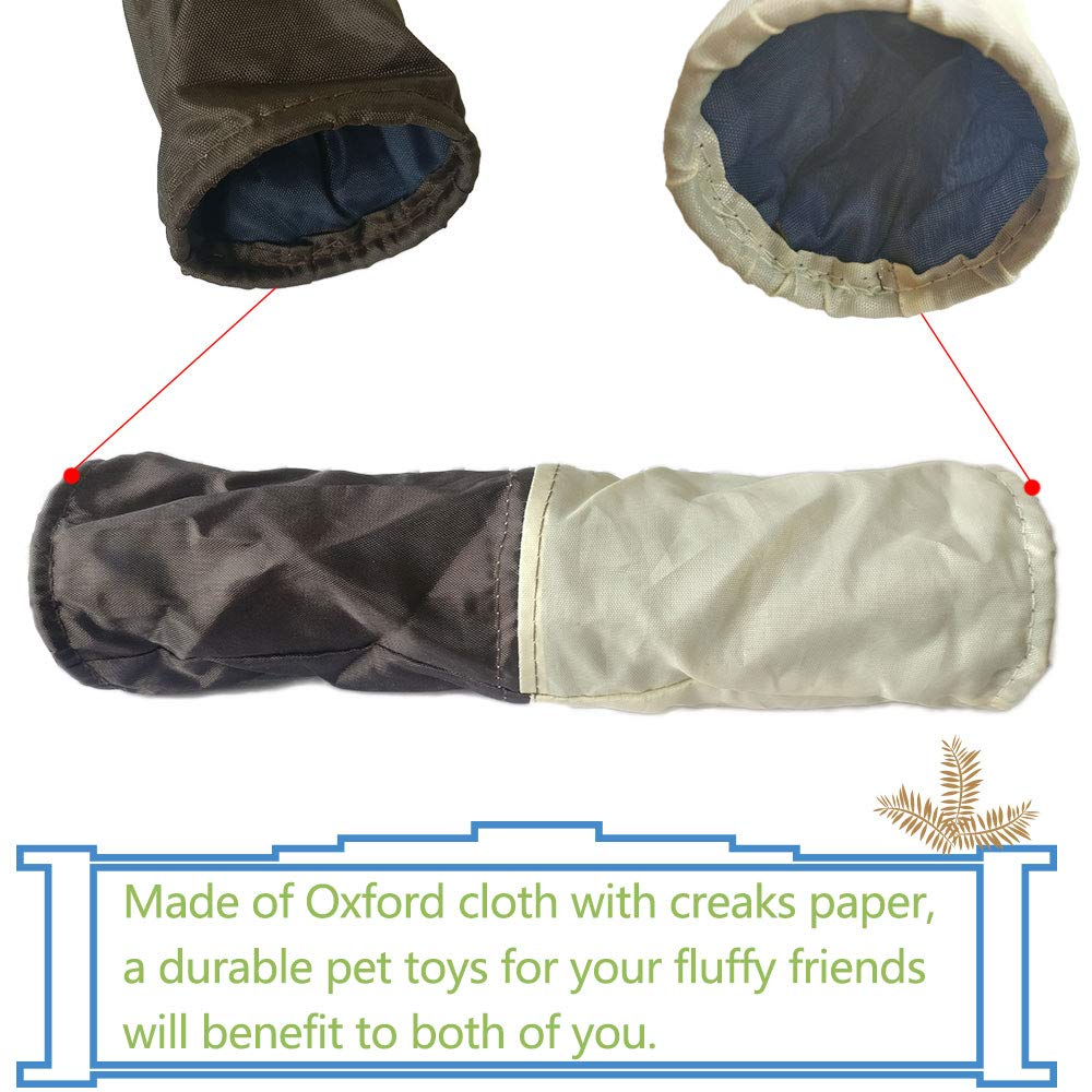 Oncpcare Pet Toy Tunnel Small Animal Toy Hamster Tunnel Rat Tube Cage Rat Hideout Lizard Hideaway Spider Shelter Pet Cage Accessories