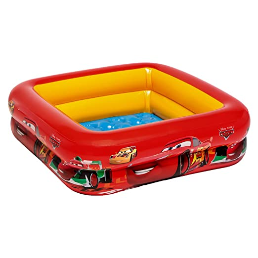 Intex 57101 - Piscina Baby Cars, 85 x 85 x 23 cm: Amazon.it: Giochi e giocattoli
