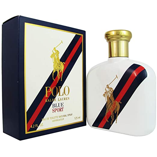 Polo Blue Sport Eau De Toilette Spray - 125ml/4.2oz: Amazon.es ...
