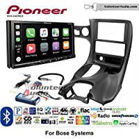 Volunteer Audio Pioneer AVH-2440NEX Double Din Radio Install Kit with Apple CarPlay, Android Auto and Bluetooth Fits 1997-2004 Corvette (With Bose)