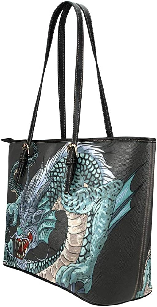 The Shoulder Bag Traditional Tattoos In Japan Leather Hand Totes Bag Causal Handbags Zipped Shoulder Organizer For Lady Girls Womens Totes Organizer