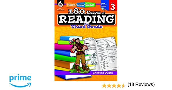Math Worksheets 3rd grade free math worksheets : Amazon.com: 180 Days of Reading for Third Grade (180 Days of ...