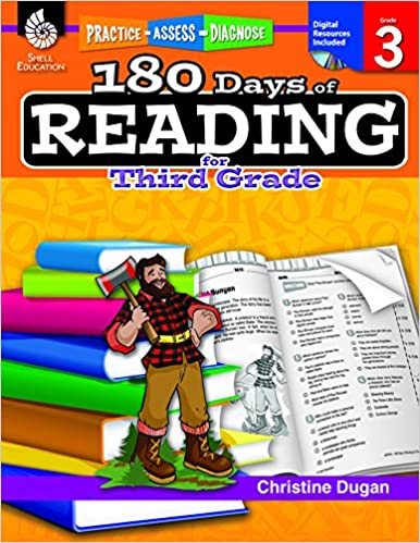 Amazon.com: 180 Days of Reading for Third Grade (180 Days of ...