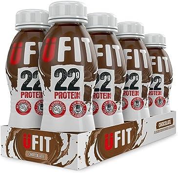 Bebida con alto contenido de proteína UFIT, RTD, 8 x 310 ml