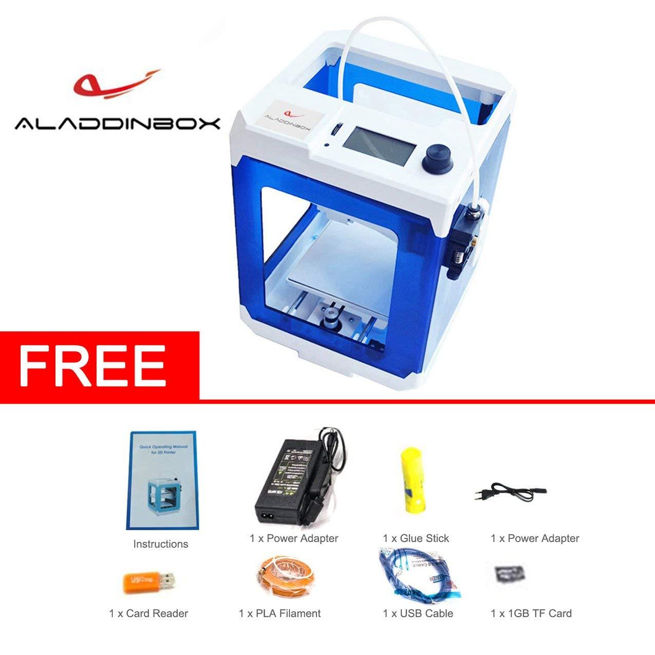 Aladdinbox SkyCube Portable EU Plug Desktop Impresora 3D Modelo ...