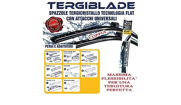 Arearicambi - Escobillas Del Parabrisas De Renault Captur Pares 01/2013 > Front: Amazon.es: Coche y moto