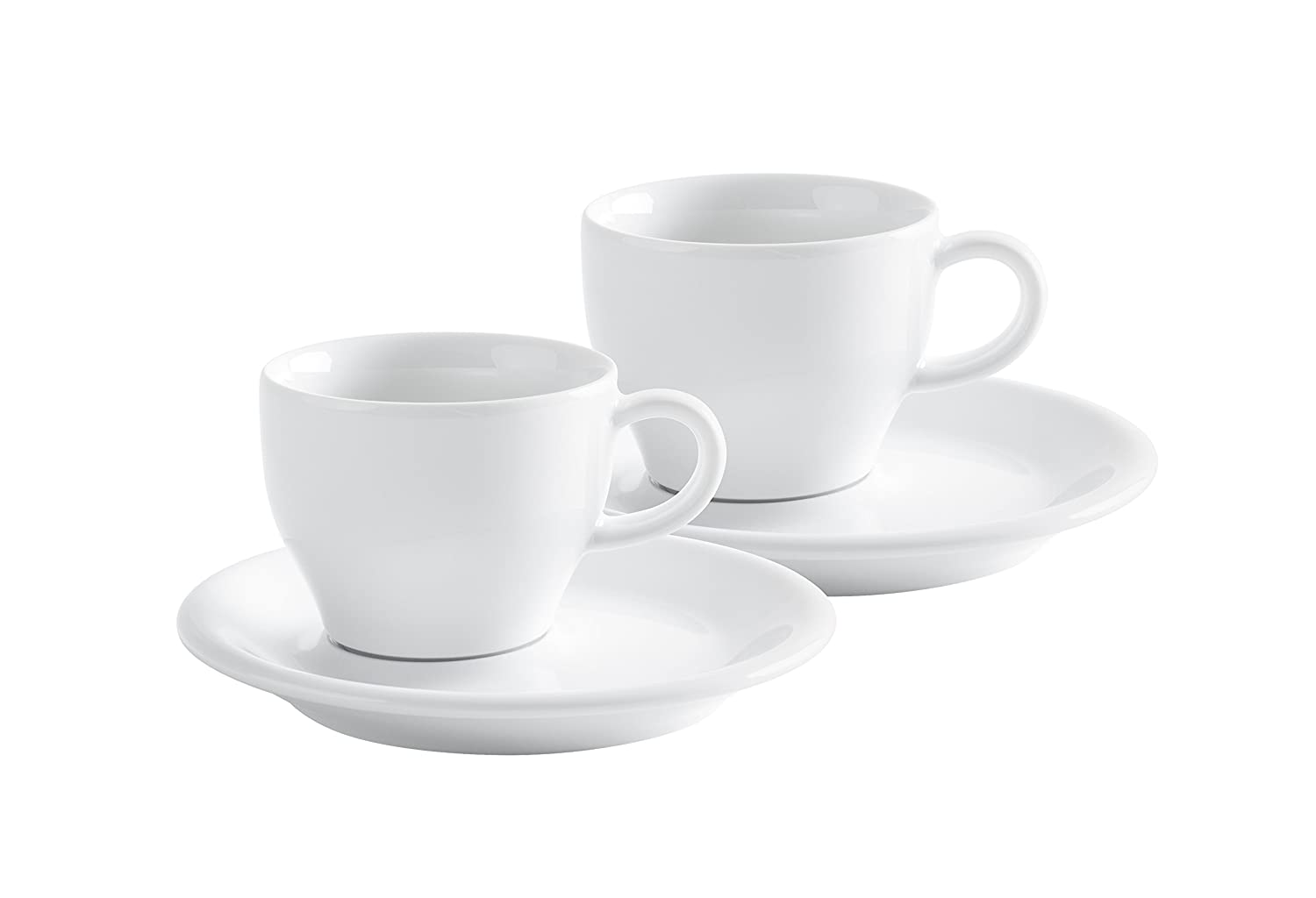 KAHLA Cafe Sommelier Cappuccino Italiano, White Color, Set of 4 Pieces Set of 4 Pieces 21D249A90021C