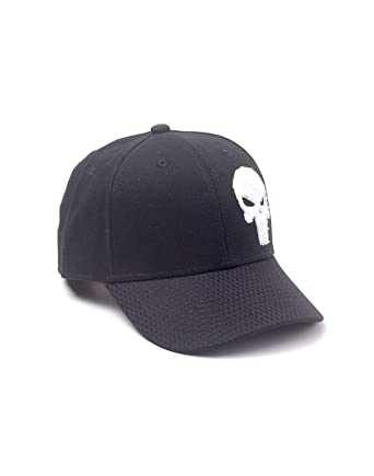 Marvel Comics The Punisher Varsity Adjustable Cap Gorra de béisbol ...