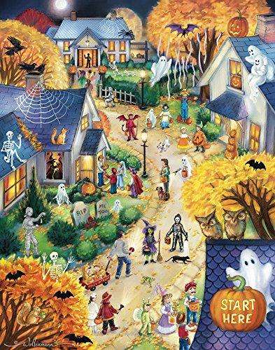 Halloween Town Countdown to Halloween Calendar & (Halloween Advent Calendar)