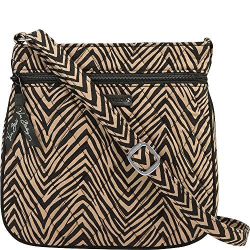 Signature Zebra Zip Hipster Cotton Petite Vera Double Bradley w8xgqH0XnF