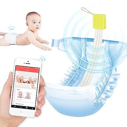 DDiaper Smart bebé Pee y Poop pañales Alarma, ayuda Ideal ...